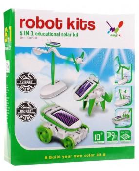 Solárny robot KITS 6v1